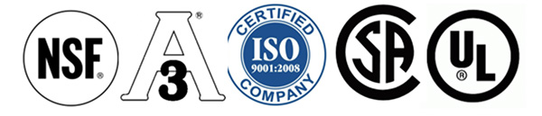 Manner Polymers Certifications